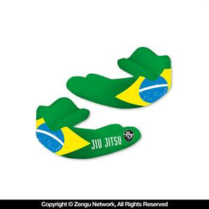Fight Dentist Brazilian Flag Mouth Guard